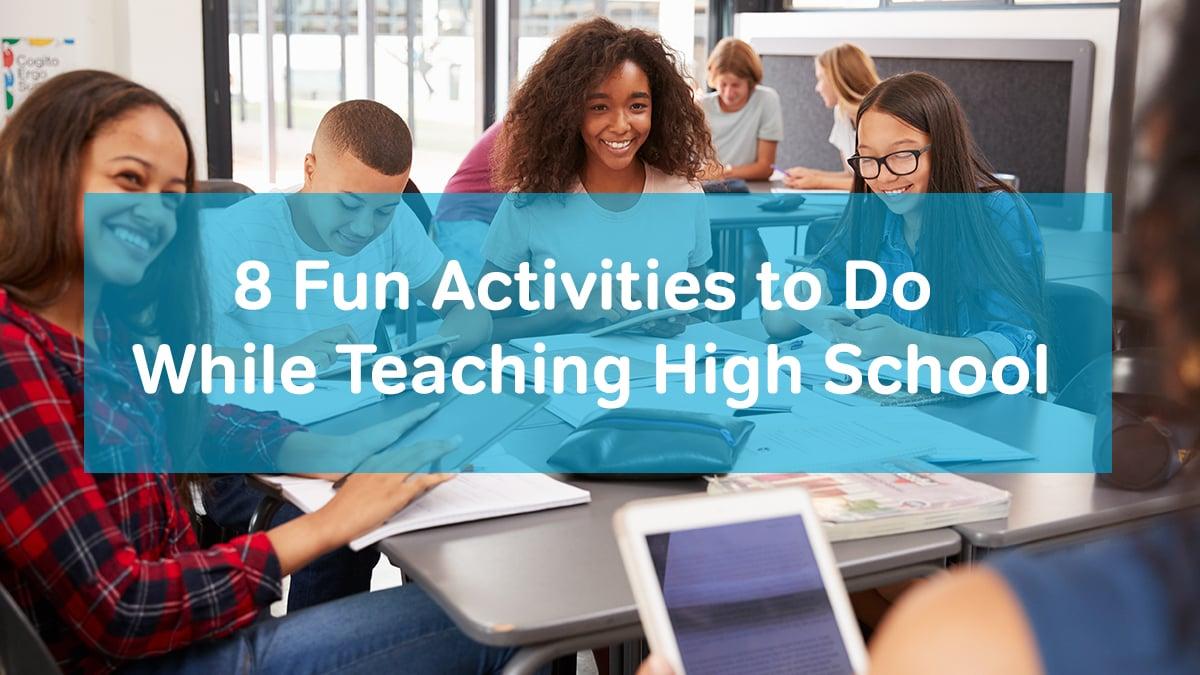 8 activities