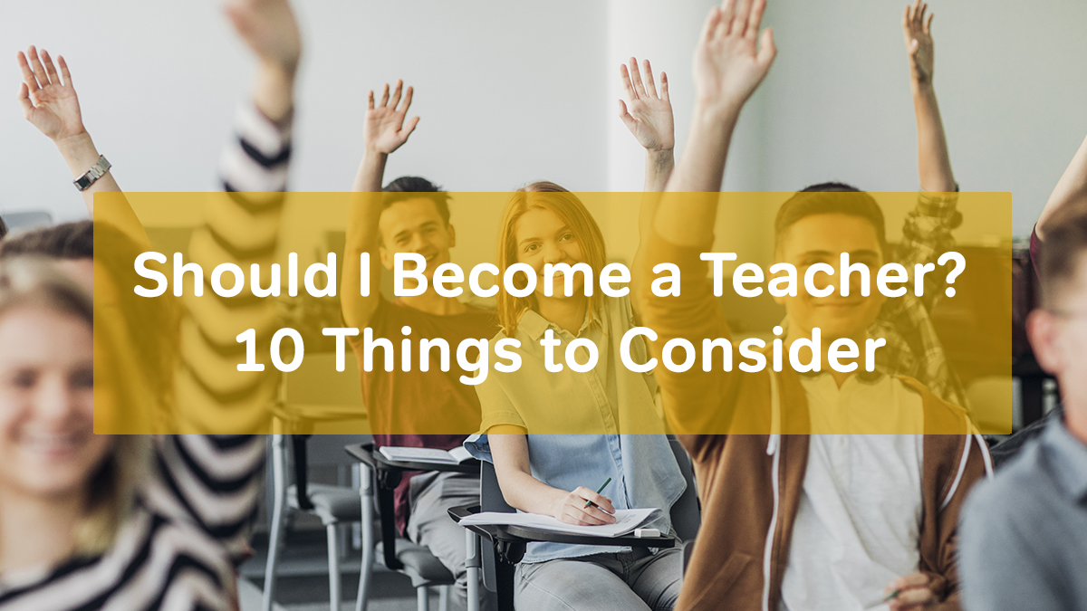 become a teacher