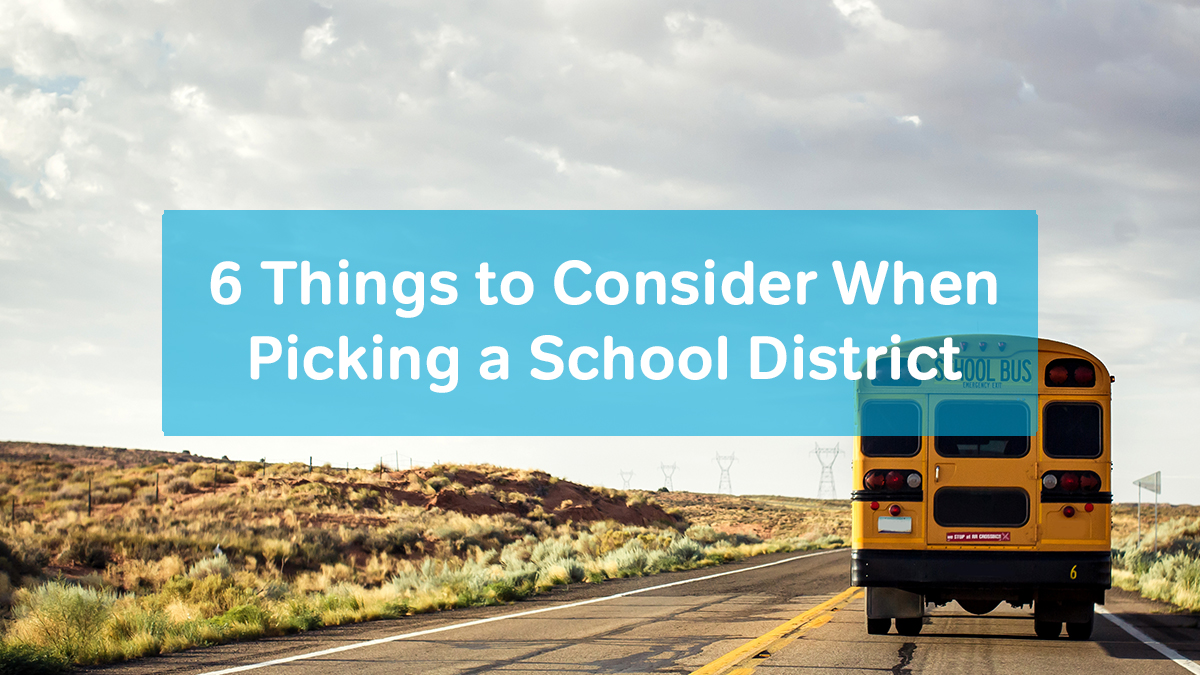 picking a school district