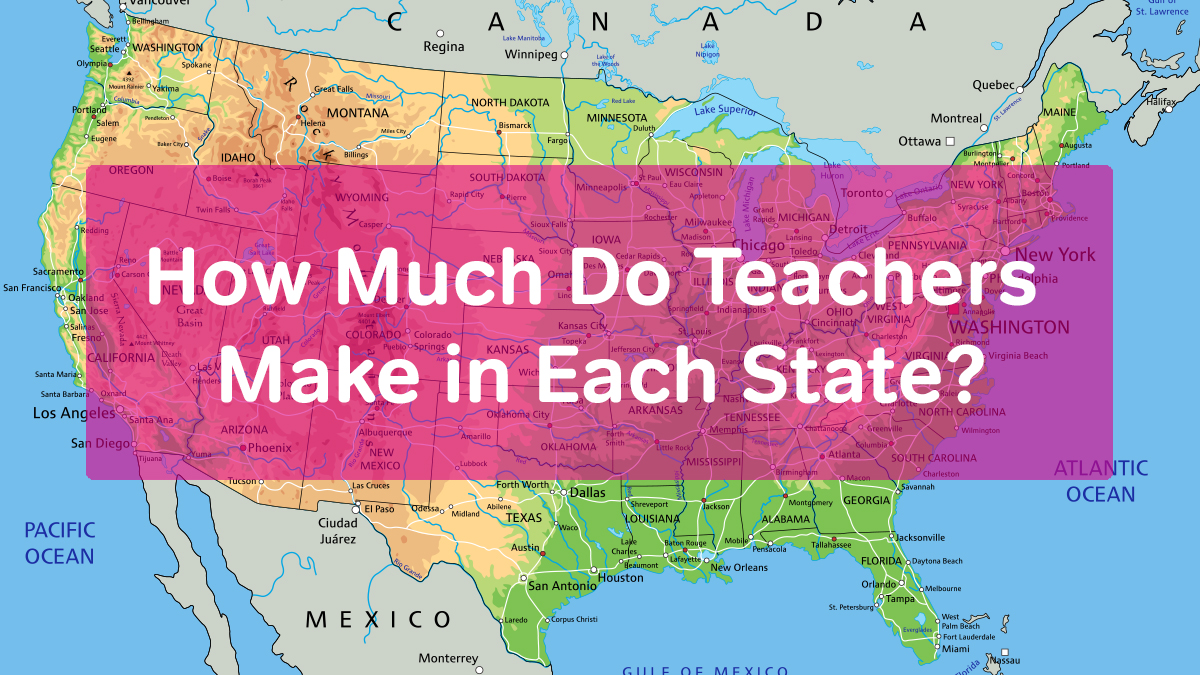 salary in each state
