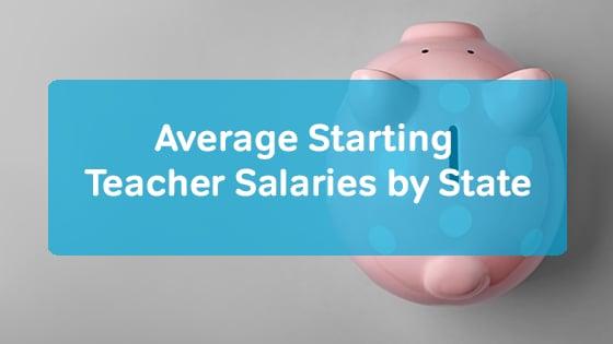 teacher starting salaries