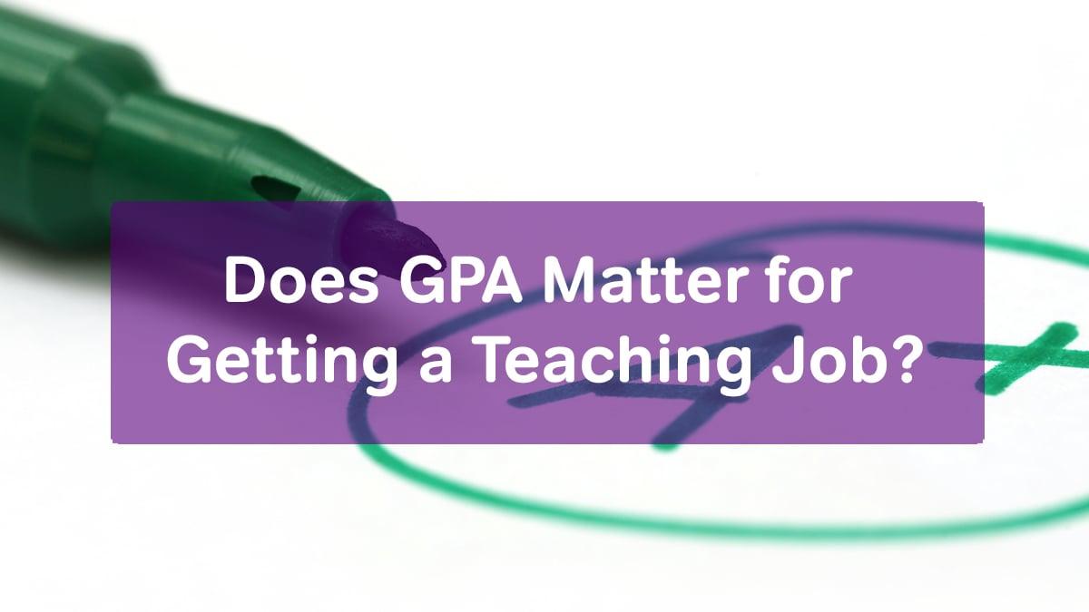 gpa matter